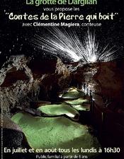 Contes de la pierre qui boit à la Grotte de Dargilan