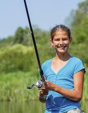 Partie de pêche en famille