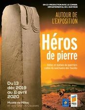 Exposition : Héros de pierre - Musée Millau Grands Causses (copie)