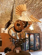 Exposition au château de Coupiac