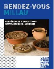 RDV Millau conférences et expositions 2020-2021 - VPAH