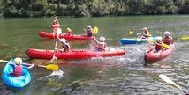 Aigue Vive canoe kayak - Mostuéjouls