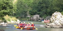 Aigue Vive rafting - Mostuéjouls
