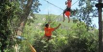 Acroparc du Mas - Parcours aventure - Aguessac