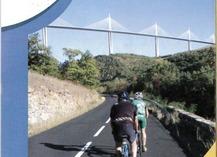 Cyclo n°5 : Entre Tarn et Dourbie - 100,3 km - 1295 m + - Millau