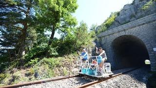 Vélorail et Train Touristique du Larzac - Sainte-Eulalie-de-Cernon