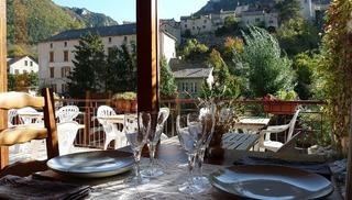 Hôtel Doussière - Restaurant l'Alicanta - Le Rozier