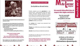 Marché paysan à Montredon - La Roque-Sainte-Marguerite