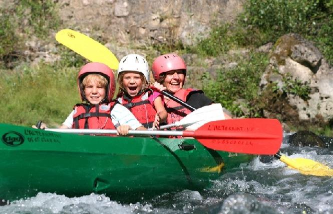 L'Alternative - canoë kayak 5 - Mostuéjouls