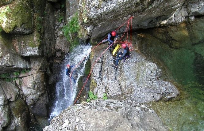 Antipodes Canyoning - Randonnée aquatique 2 - Millau