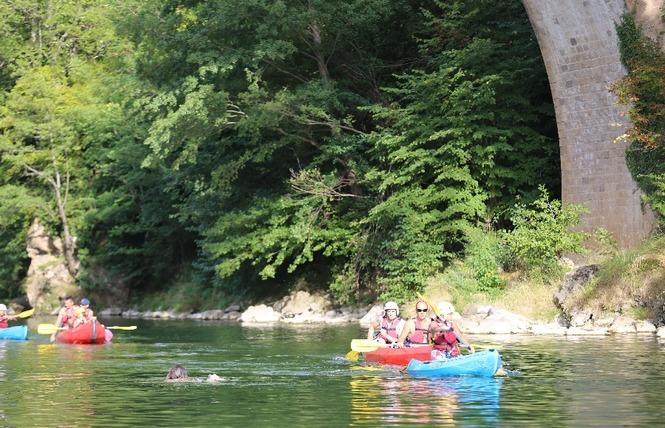 Aigue Vive canoe kayak 12 - Mostuéjouls