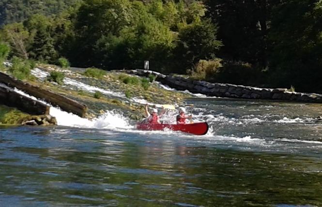 Aigue Vive canoe kayak 8 - Mostuéjouls