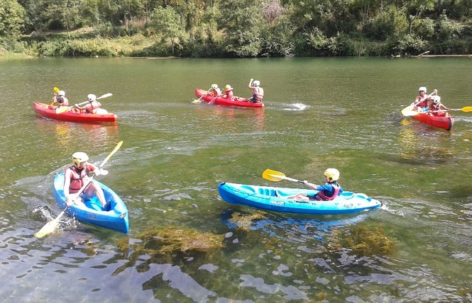 Aigue Vive canoe kayak 10 - Mostuéjouls