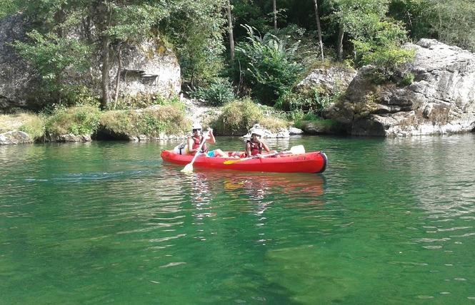 Aigue Vive canoe kayak 11 - Mostuéjouls