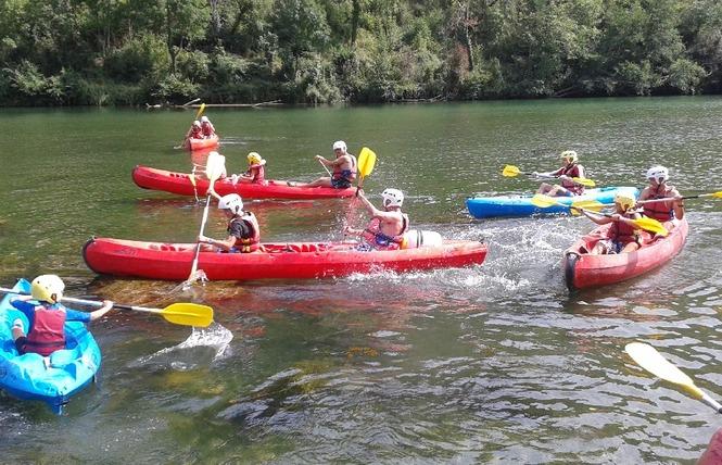 Aigue Vive canoe kayak 1 - Mostuéjouls
