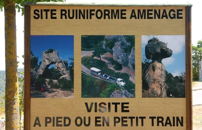 La Cité de Pierres à Montpellier-Le-Vieux - Randonnée pédestre 7 - Millau