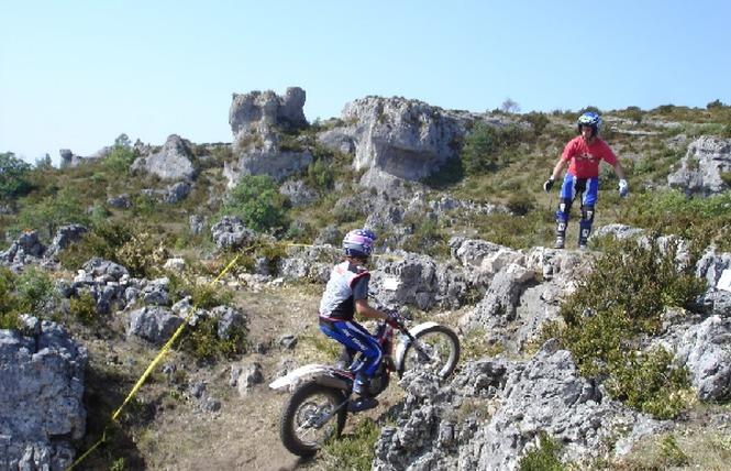 Trial Moto 2 - Lapanouse-de-Cernon