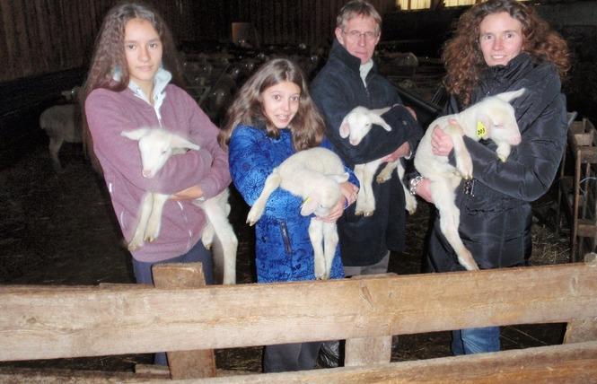 Ferme de Pinet, visite d'un élevage de brebis en agroécologie 9 - La Cresse