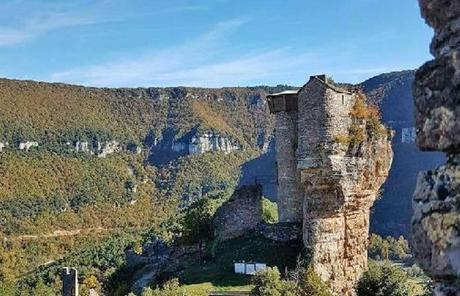 Château de Peyrelade 2 - Rivière-sur-Tarn