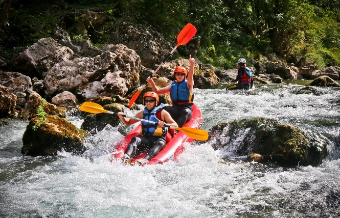 Roc et Canyon - Raft / Hotdog (mini-raft) 1 - Millau