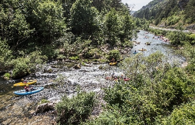 Roc et Canyon - Raft / Hotdog (mini-raft) 3 - Millau