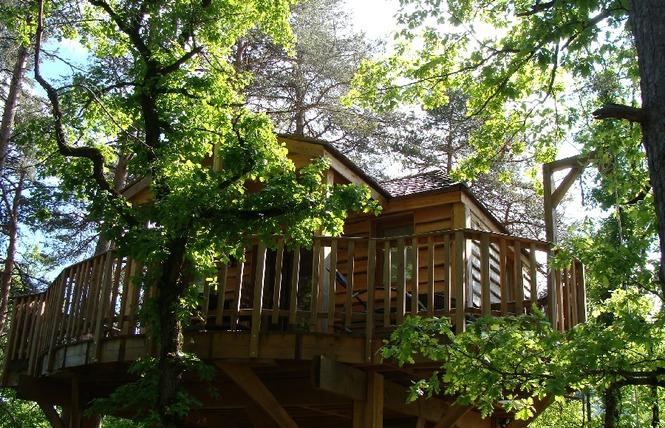La Cachette - Cabanes perchées 3 - Rivière-sur-Tarn