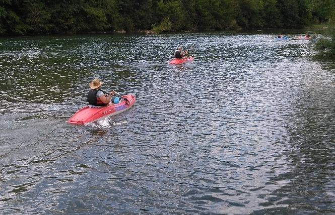 Kayaks Franconne - Location de canoës 4 - Millau