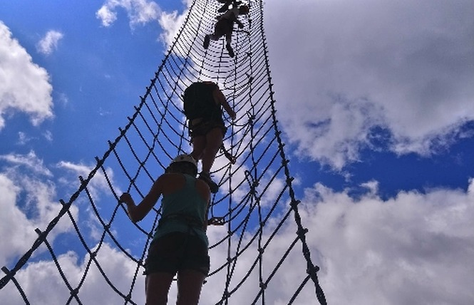 Aventures Occitanes Via Ferrata 4 - Mostuéjouls