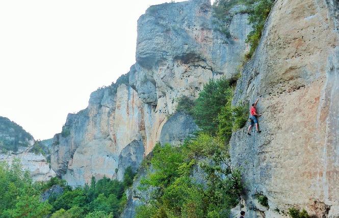 Aventures Occitanes - Escalade 2 - Rivière-sur-Tarn