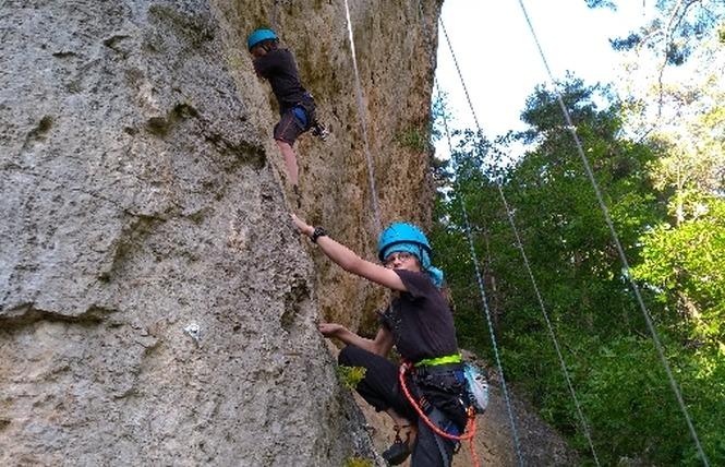 Aventures Occitanes - Escalade 5 - Rivière-sur-Tarn