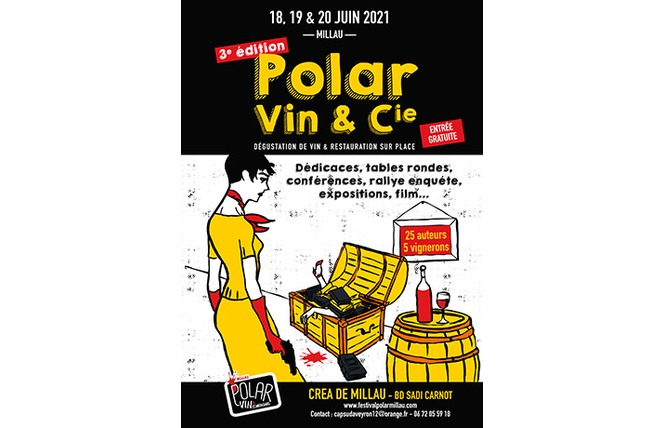 Festival Polar, Vin & Compagnie 2021 1 - Millau